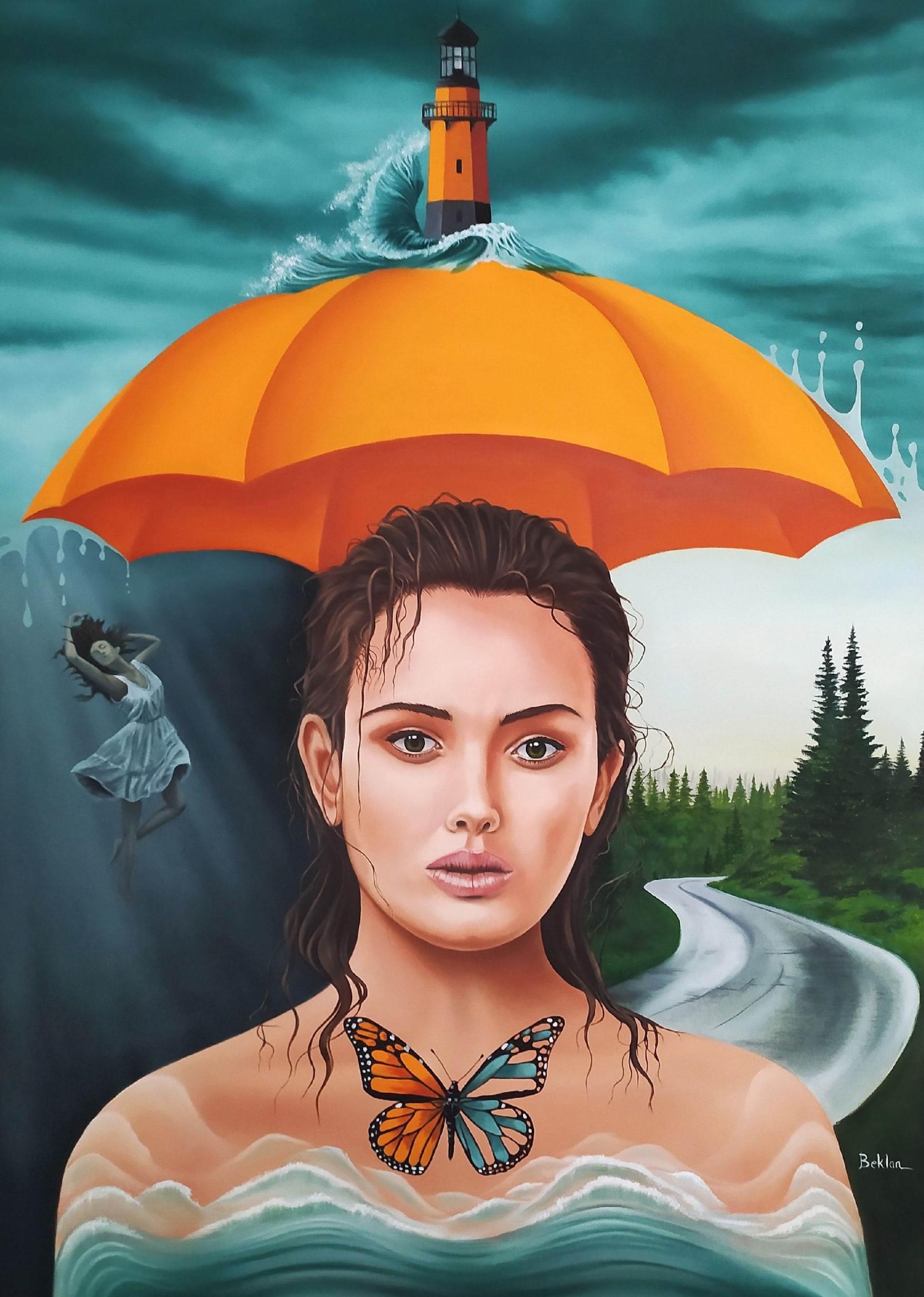 Şemsiyemin altında yolumda